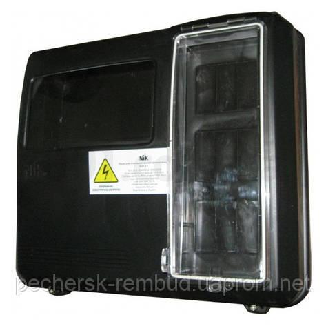 Ящик для 1/3-фазного счетчика DOT-3.1 9 модулей IP54, NiK, фото 2