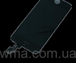 Экран + сенсор (модуль) для Apple IPhone 5S чёрный/белый