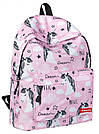 Рюкзаки для девочек с принтом бабочки и единорога., фото 6
