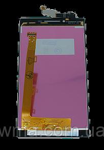 Экран + сенсор (модуль) для для Lenovo P70 чёрный