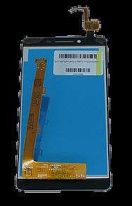 Экран + сенсор (модуль) для для Lenovo A6010 чёрный