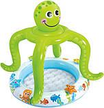 ✅Надувной бассейн детский с навесом Intex 57115 Осьминог, фото 2
