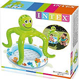 ✅Надувной бассейн детский с навесом Intex 57115 Осьминог, фото 3