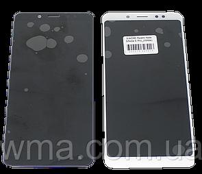 Экран + сенсор (модуль) для Xiaomi Redmi Note 5 / Note 5 Pro  чёрный / белый  Белый