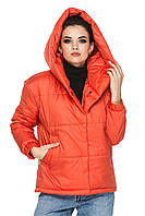 Жіноча демісезонна куртка подовжена весна-осінь, фото 1