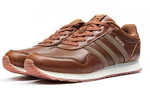 Кроссовки адидас хевен демисезонные мужские коричневые (реплика)  Adidas HAVEN Brown