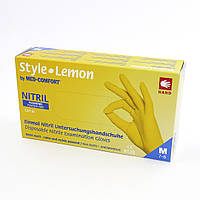 Style, 100 шт, нитриловые, медицинские перчатки, нестерильные, Ampri