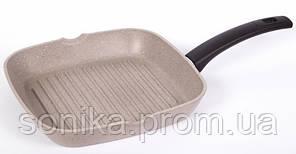 Cковорідка-гриль TАЛКо Веста-26*26см, граніт АА51260