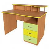 Учительський стіл письмовий для НУШ - Учительский стол письменный для НУШ, фото 4