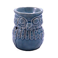 "Аромалампа ""Сова"", круглая чаша, керамика"