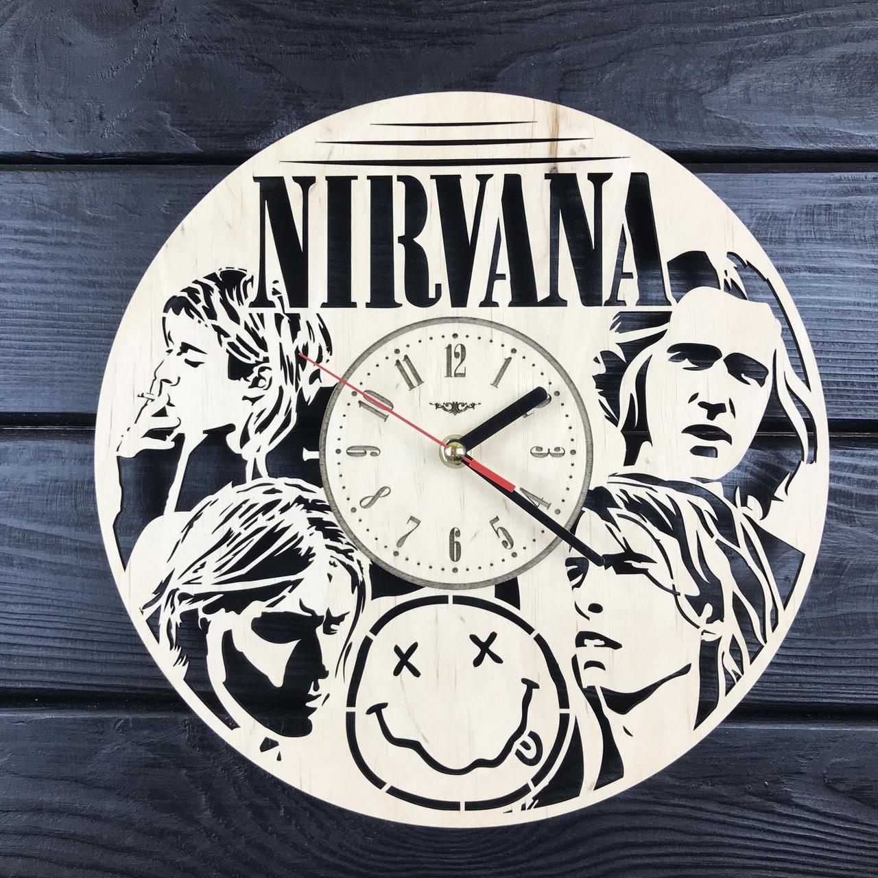 Тематические интерьерные настенные часы «Nirvana»