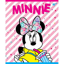 А5/12 косая YES неон+мат. ламинация+софт-тач Minnie Mouse neon, тетрадь (упаковка 10 штук), фото 2