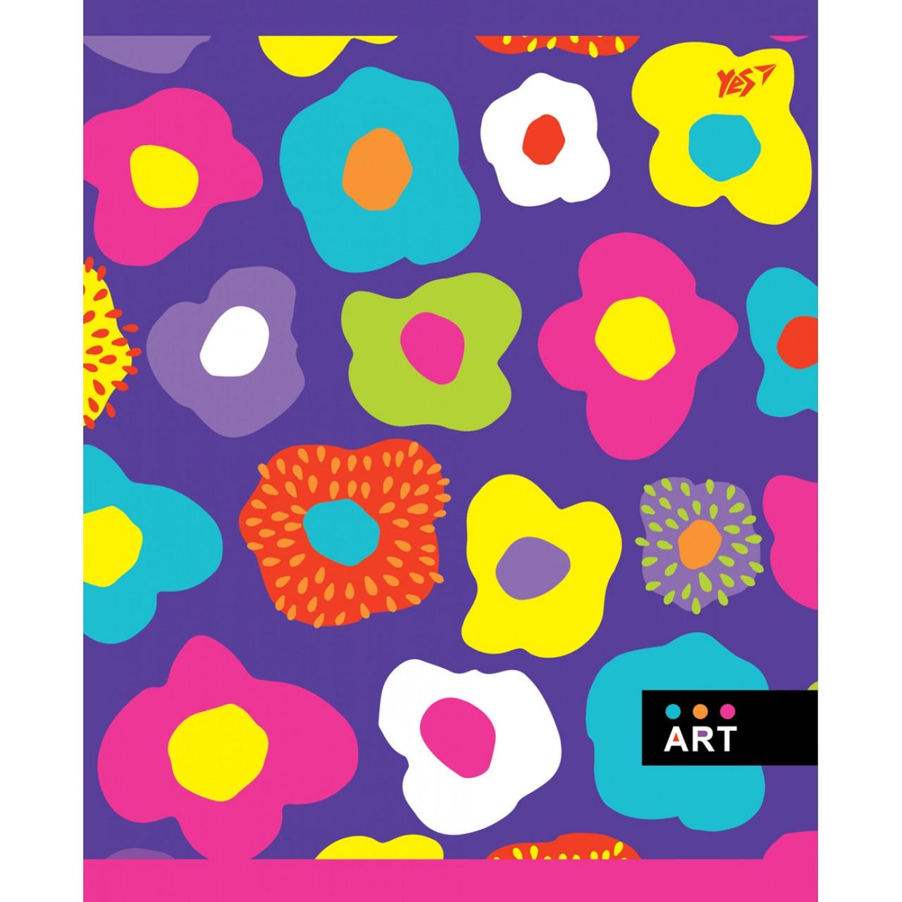 А5/12 линия YES неон+мат.ламинация+софт-тач Abstract neon, тетрадь (упаковка 10 штук)