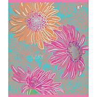 А5/12 линия YES УФ-выб+фольга серебро Turnowsky flowers, тетрадь (упаковка 10 штук)