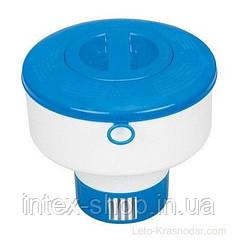Плавающий дозатор для химии Intex Floating Chemical Dispenser 29041 (MAX )