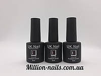 База для ногтей UK.Nail Color Rubber Base(цветная база) 8 мл., фото 1