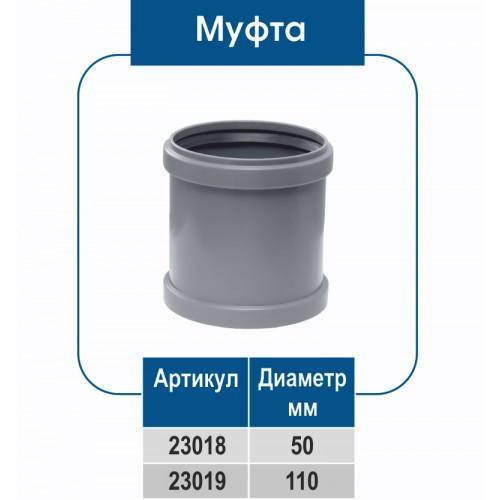 Муфта ПВХ (ВН)