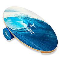 """Баланс борд с роллером """"Wave"""" (Волна) (балансировочная доска)"""