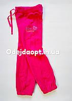 Детские спортивные  брюки с карманами для девочки