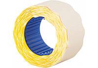 Етикетки-цінники ECONOMIX, жовті, 26х12 мм, 500 шт. (E21304-05)