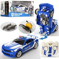 Робот Трансформер 28170B (Синий) полицейская машина (31 см)