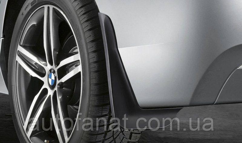 Оригинальный комплект брызговиков задних BMW 1 F20, F21 (82162211821)