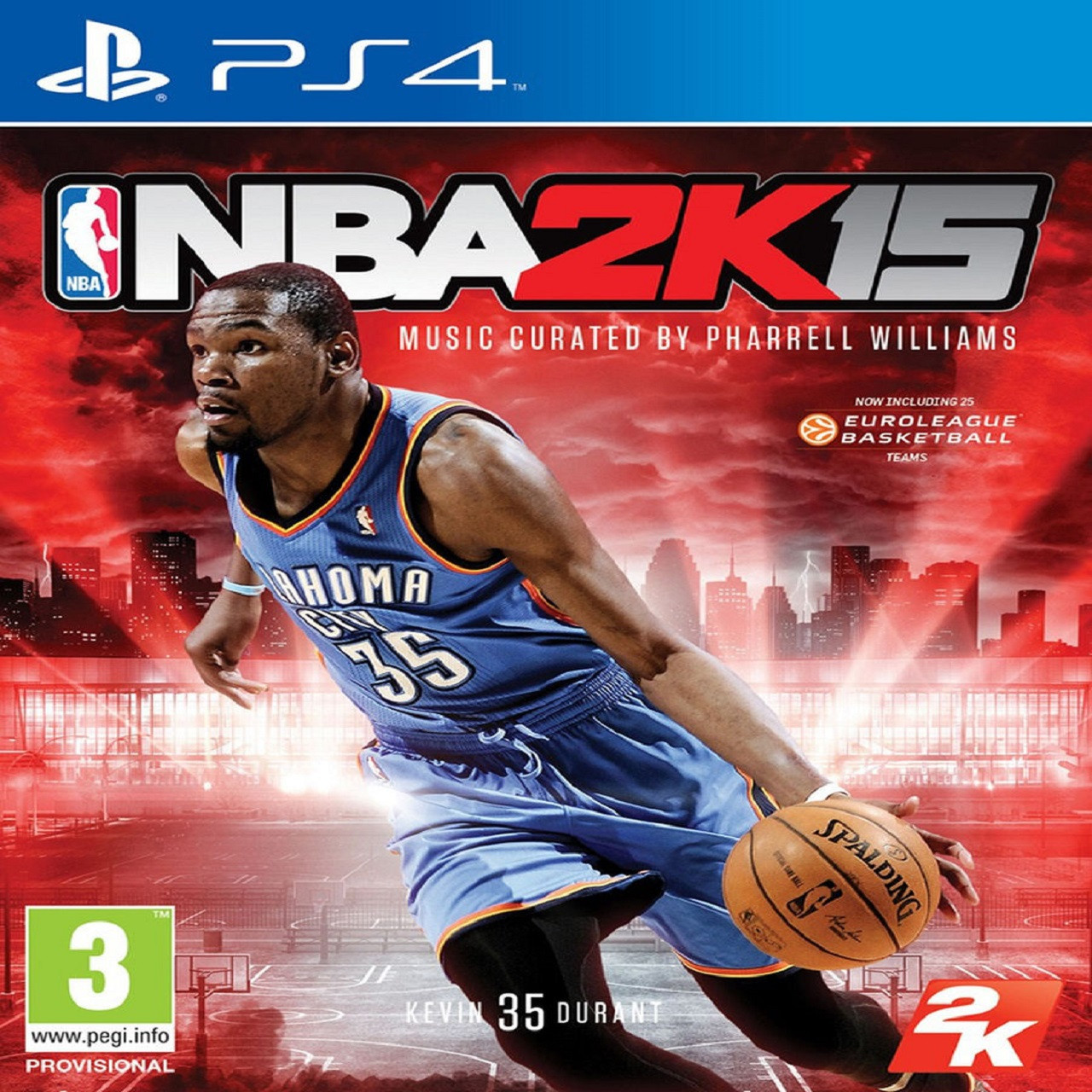 NBA 2K15 ENG PS4 (Б/В)