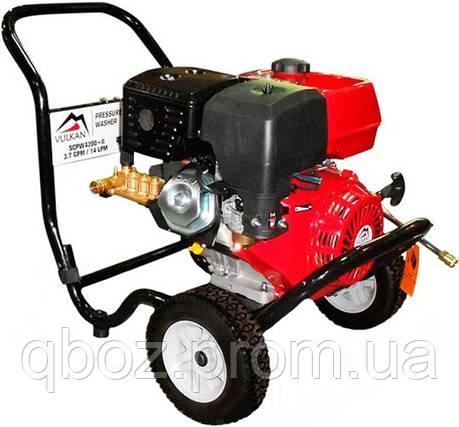 Мойка высокого давления бензиновая Vulkan SCPW 4200-II, фото 2