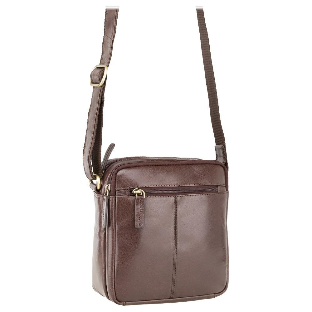 Мужская коричневая сумка Visconti S8 brown (Великобритания)