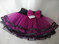 a2e7ec5f2ce Детская яркая фатиновая юбка