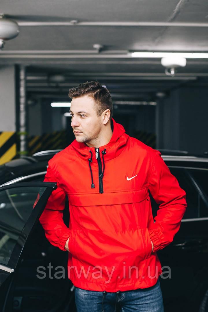 Анорак President |красный| Куртка