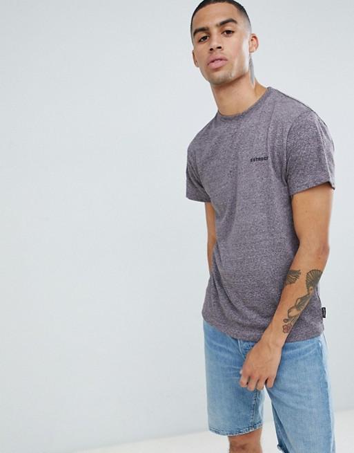 Мужская футболка D-Struct - Бордовая я с принтом логотип (чоловіча футболка)