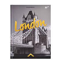 """Блокнот 140*185/64 клетка 7БЦ """"Gorjous London""""  YES"""