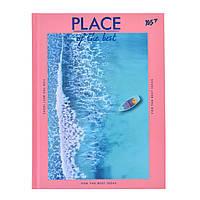 """Блокнот 140*185/64 клетка 7БЦ """"Place ot the best""""  YES"""