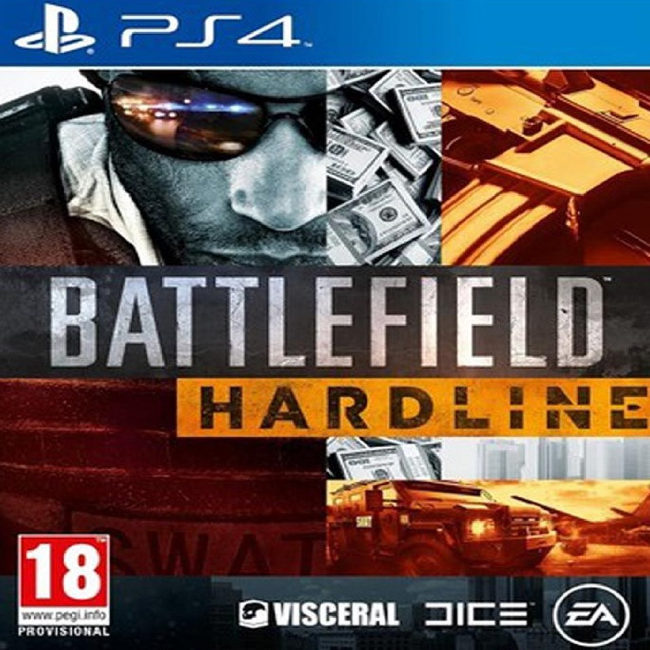 Battlefield Hardline RUS PS4 (Б/В)