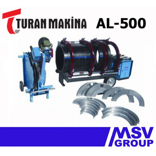 Стыковой сварочный аппарат  Turan Makina AL-500