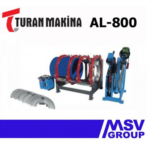 Стыковой сварочный аппарат  Turan Makina AL-800