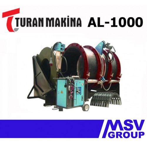 Стыковой сварочный аппарат  Turan Makina AL-1000