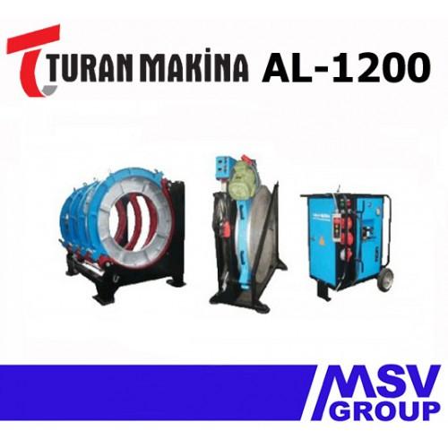 Стыковой сварочный аппарат  Turan Makina AL-1200