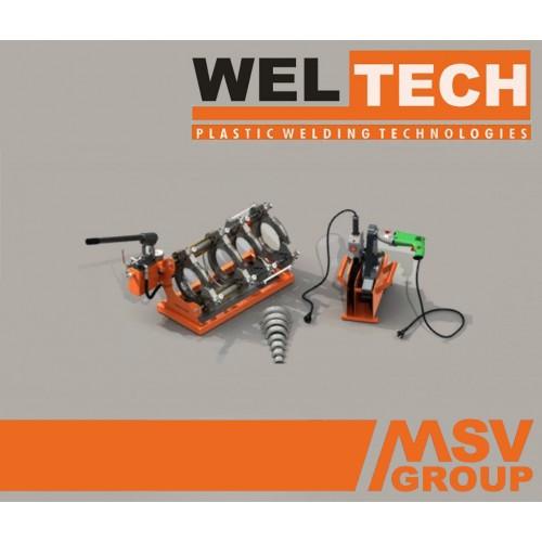 Стыковой сварочный аппарат  Weltech MHW-160