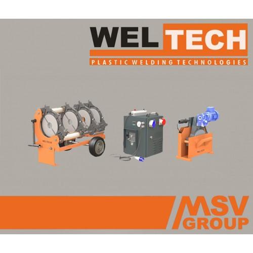 Стиковий зварювальний апарат Weltech W-250