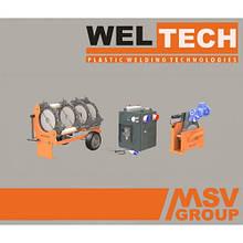 Стыковой сварочный аппарат  Weltech W-250