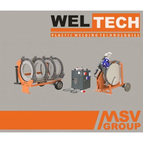 Стыковой сварочный аппарат  Weltech W-400