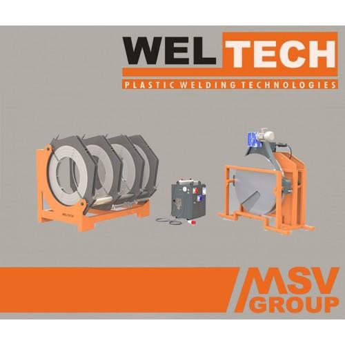 Стыковой сварочный аппарат  Weltech W-800