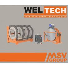 Стыковой сварочный аппарат  Weltech W-1000