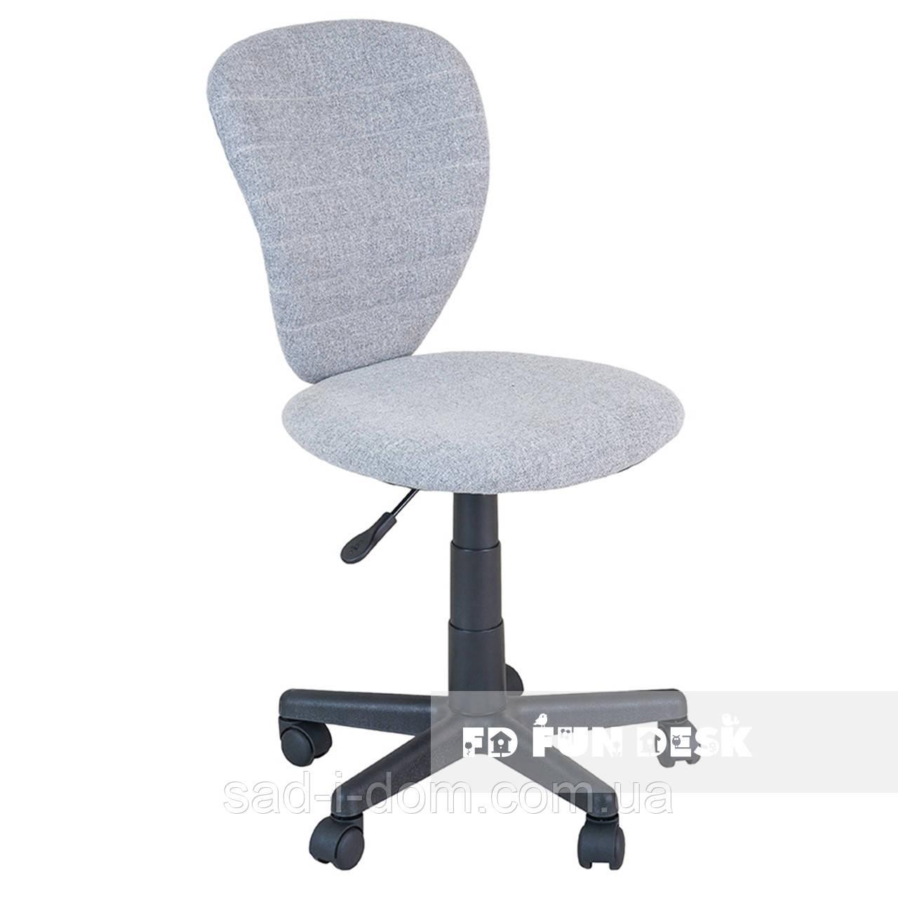 Детское компьютерное ортопедическое кресло FunDesk LST2, серое