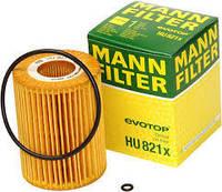 Масляный фильтр на MB Sprinter, Vito 3.0CDI 2006→ OM 642 — MANN (Германия) — HU821X, фото 1