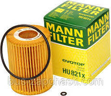 Масляный фильтр на MB Sprinter, Vito 3.0CDI 2006→ OM 642 — MANN (Германия) — HU821X