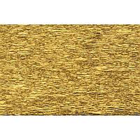 Бумага гофрированная золото 20% (50см*200см)