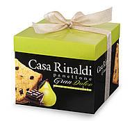 Панеттоне (кулич) c грушей и шоколадом Casa Rinaldi 750г